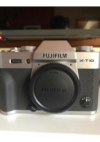 Fujifilm X-t10 Series X + Objetiva 16-50 Mm