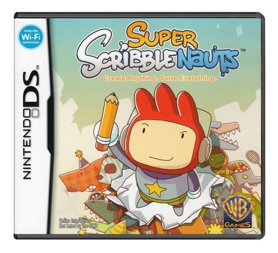 Super Scribblenauts - Nintendo Ds - Usado - Original