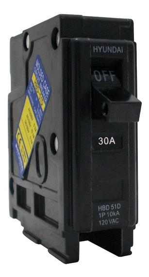 Breaker Residencial 1x30 Amp Empotrar Hyundai