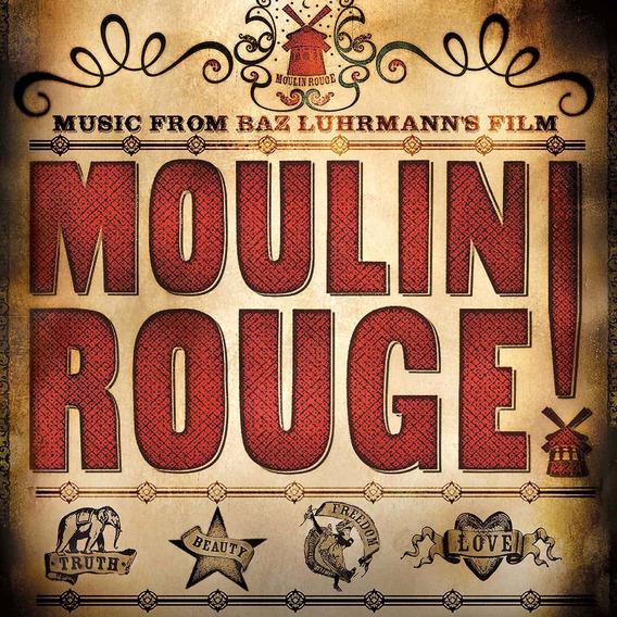 Moulin Rouge! Vinilo Doble Nuevo Importado