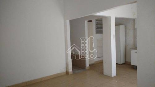 Apartamento Com 2 Dormitórios À Venda, 80 M² Por R$ 280.000,00 - Icaraí - Niterói/rj - Ap1371