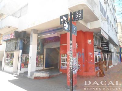 Local En La Plata Calle 8 Esq. 55 Dacal Bienes Raices