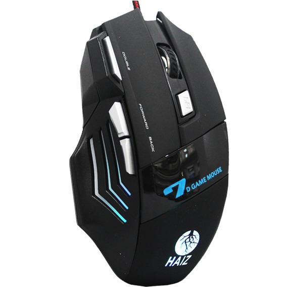 Mouse Gamer X7 Profissional Usb 3600dpi 7 Botões Nota Fiscal