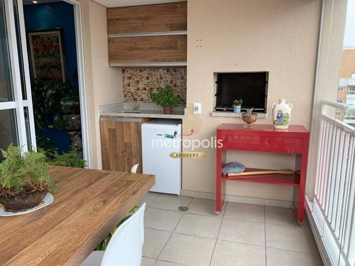 Imagem 1 de 21 de Apartamento À Venda, 133 M² Por R$ 995.000,00 - Santa Paula - São Caetano Do Sul/sp - Ap5562