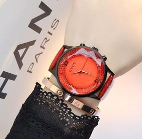 Relógio Feminino De Pulso Guou 8107 Original Quartzo Barato