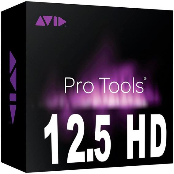 Pro Tools 12.5 Windows + Pacotão De Plugins + Suporte - Leia
