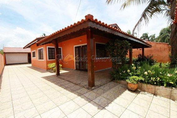 Casa Com 4 Dorm. A 200m Da Praia E Toda Mobiliada - Cod 179 - V179