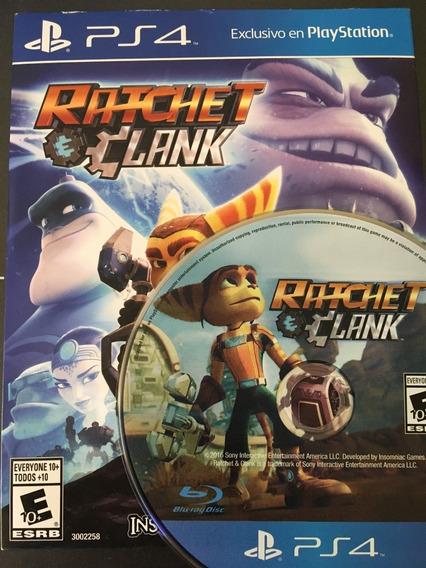 Ratchet & Clank Perfeito Estado Ps4 Midia Fisica