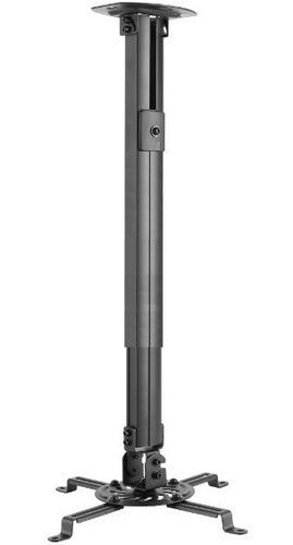 Imagen 1 de 5 de Soporte Universal De Techo Video Proyector Ajustable 55 A 90cm Giratorio 360 Grados Inclinacion Base Cañon Envio Gratis