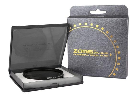 Filtro Variável Nd2 A Nd400 Zomei 72mm Nikon Canon Sony