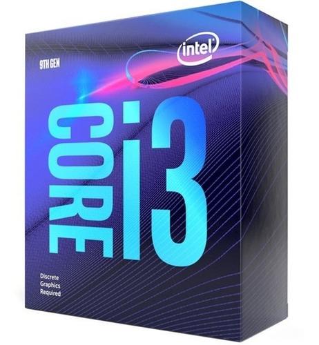Procesador Intel Core I3 9100 9na Generación Socket 1151