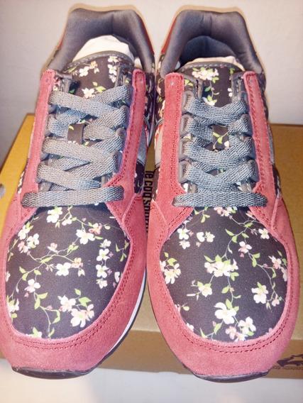 Zapatillas Le Coq Sportif Black Blossom Nuevas Originales