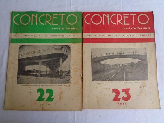 Revista Concreto N-22-23 Estação Bento Ribeiro E Santa Cruz