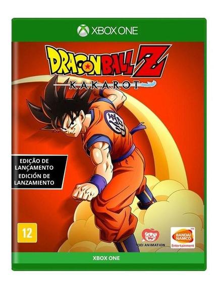 Dragon Ball Z Kakarot Edição De Lançamento Xbox One Física