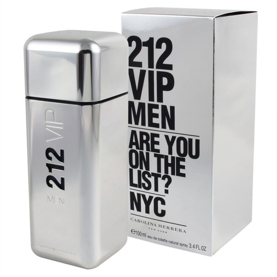 212 Vip Men De Carolina Herrera Eau De Toilette 100 Ml.
