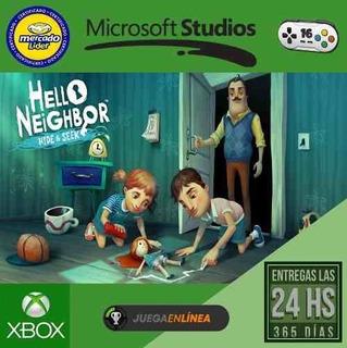 Hello Neighbor Hide And Seek Xbox One Modo Local