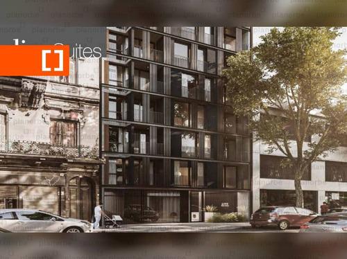 Venta De Apartamento Obra Construcción 1 Dormitorio En Centro, Live Suites Unidad 903