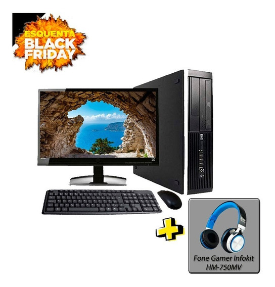Computador Hp 8300 I7 3º Geração 8gb Hd500gb Black Friday