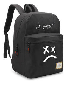 Mochila Lil Peep Awful Things Bolsa Material Escolar