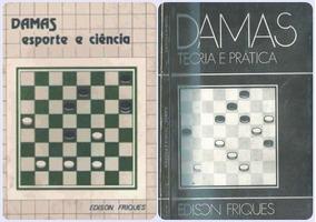 Livros Para Aprender Jogar Dama - Jogo De Damas