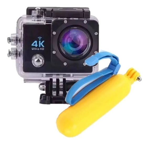 Action Camera 4k Com Wi-fi 16mp + Boia Go Flutuadora Pro