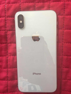 iPhone X 64gb Silver.