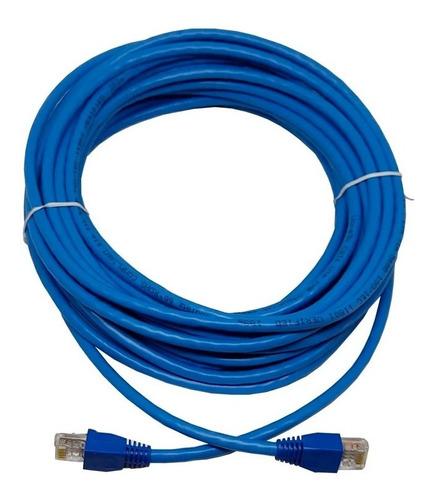 Imagen 1 de 6 de Cable Ethernet De 30 Metros Cat 6 Gigabit