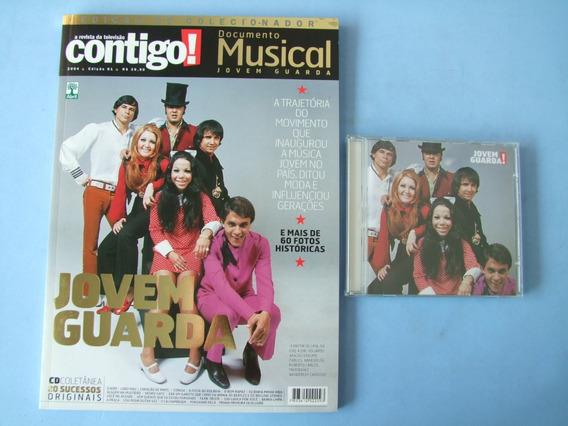 Revista Contigo Documento Musical Jovem Guarda (com Cd)
