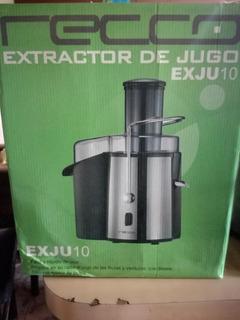 Extractor De Jugo Recco