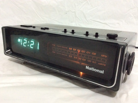 - Rádio Am Fm Com Relógio Digital - National Antigo Perfeito