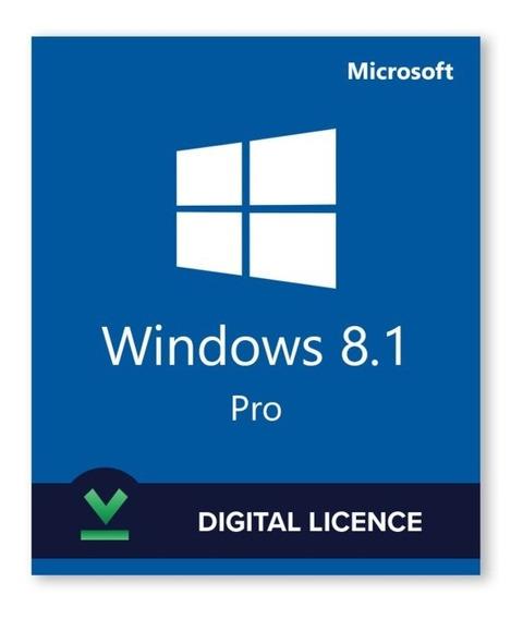 Licença Windws8.1 Pro-chave Fpp-original Vitalícia+garantia