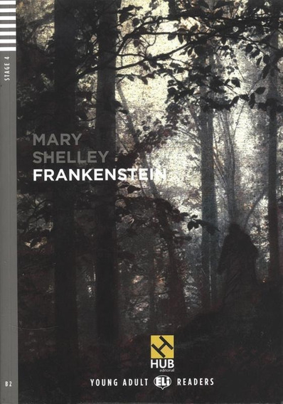 Frankenstein - Hub Young Adult Readers - Stage 4 - Book With