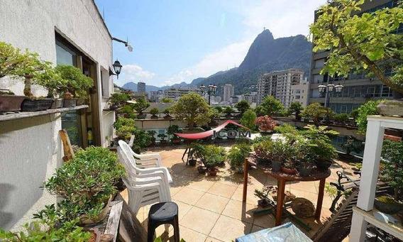Apartamento Duplex Com 3 Dormitórios À Venda, 229 M² Por R$ 2.940.000 - Humaitá - Rio De Janeiro/rj - Ad0065