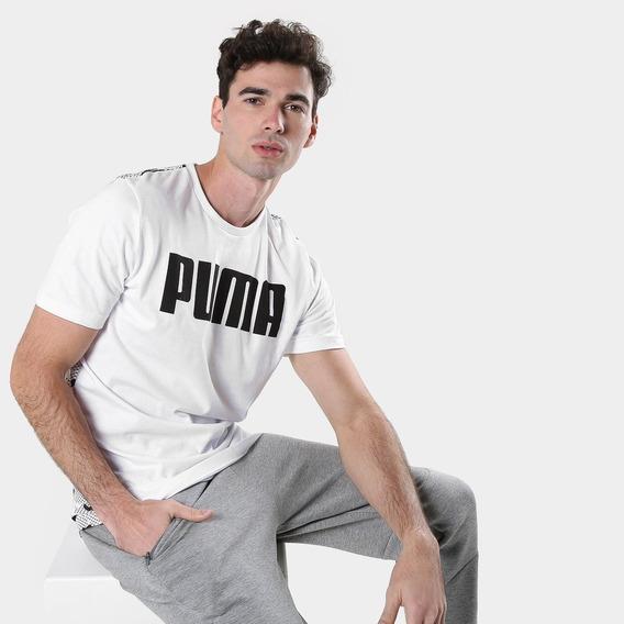 Remera Puma Modern Sport - Hombre - Blanco