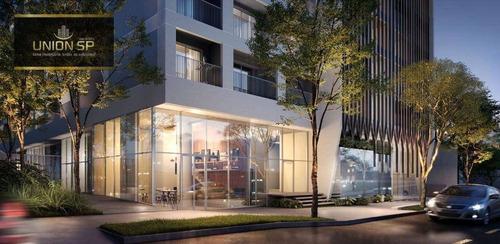 Studio Com 1 Dormitório À Venda, 25 M² Por R$ 455.000,00 - Pinheiros - São Paulo/sp - St0898