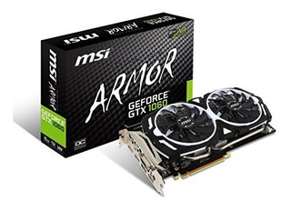 Msi Gaming Geforce Gtx 1060 6gb Gdrr5 Hdd De 192 Bits Admite