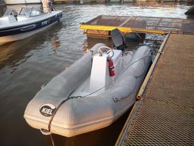 Semirigido Kiel 360 Con Motor Mercury 30 Hp.