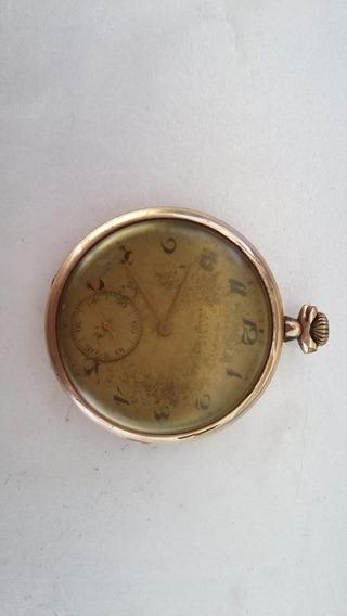 Relógio De Bolso Chro Nometre Antigo E Funcionando