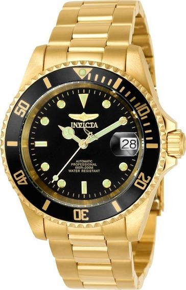 Relógio Invicta 8929ob Ouro 18k Automático Envio 24 Hs