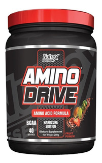 Amino Drive 40 Doses 200g Fruit Punch - Nutrex