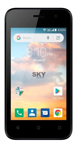 Sky Devices Platinum B4 Dual SIM 16 GB negro 512 MB RAM