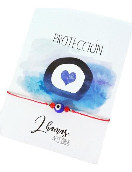 Pulsera Roja Ojo Turco Protector Regulable