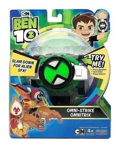 Imagen 1 de 3 de Ben 10 Omnitrix Temporada 3 Luz Y Sonidos Envio Gratis