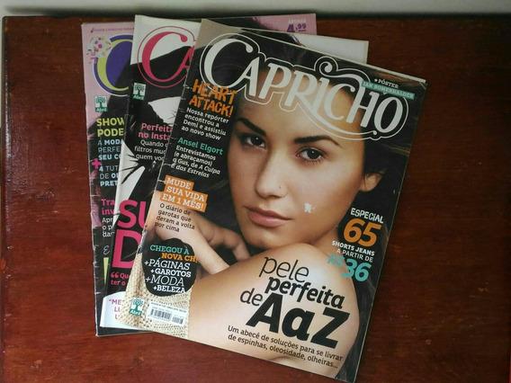 Kit Revistas Capricho - Demi Lovato