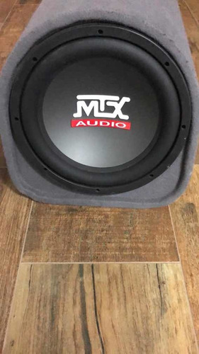 Caixa De Som Amplificada Mtx Automotiva 12pol.