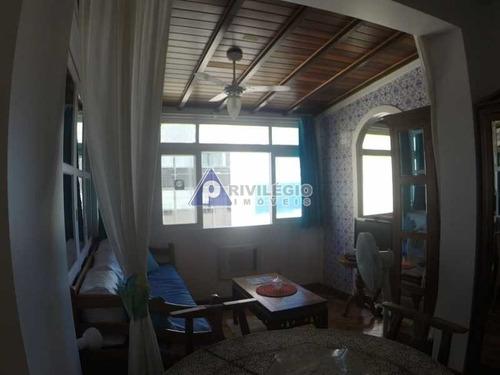 Apartamento À Venda, 2 Quartos, 1 Suíte, Leme - Rio De Janeiro/rj - 5904