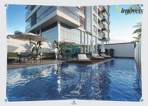 Imagem 1 de 10 de Brava Prime Residence, Cobertura Duplex Frente Mar Com 4 Suítes, 3 Vagas De Garagem, A Venda Na Praia Brava, Itajaí, Sc - Ad0013