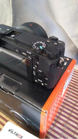 Camera Sony Alpha 6500 + Adaptador Viltroxiii + Bat Extra