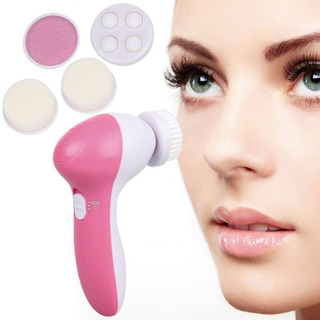 Massageador Rotativo Rosto 5 Em 1 Limpeza Cuidado Facial