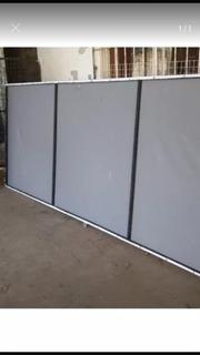 Cartel Con Extructura De Caño 2.50x1.00 Como Nuevo